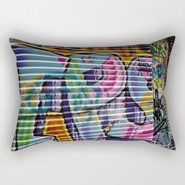 Graffiti Lines Rectangular Pillow