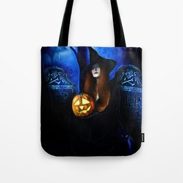 Samhain Witch Tote Bag