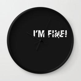 i'm fine. Wall Clock