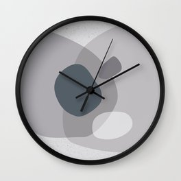Butterfly mornings and wild flower afternoons no.2 Wall Clock