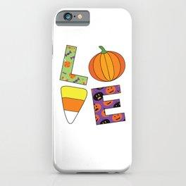 LOVE Halloween iPhone Case
