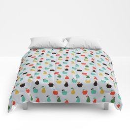 Apples + Pears Comforters
