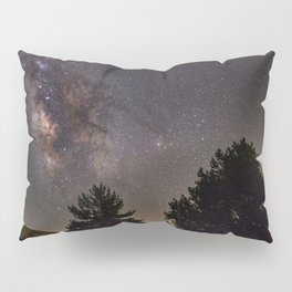 Milkyway at the mountains. Saggitarius Antares and Rho Ophiuchus Pillow Sham