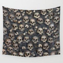 Skull Rug 4x6 Wall Tapestry