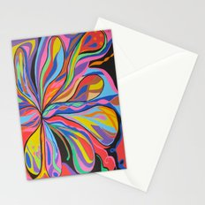 Flower colors Stationery Cards