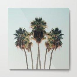 Palm Twins Metal Print