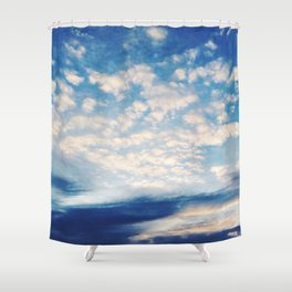 Sound of Clouds Shower Curtain