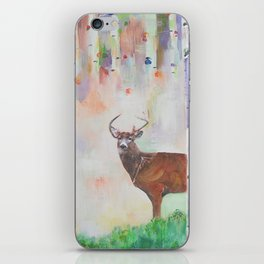 The relationship between a bear and a deer iPhone Skin