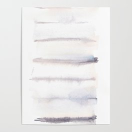 150129 Neutral Cool Abstract 8 Poster