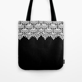 Doily - B&W Tote Bag
