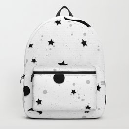 The Milky Way (Black and White) Backpack
