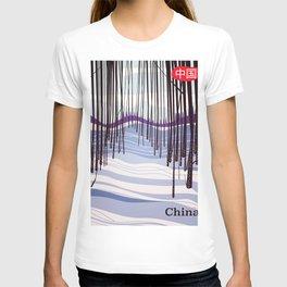 China Bamboo Woods T-shirt