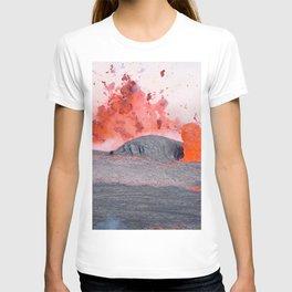 volcano #society6 #decor #buyart T-shirt