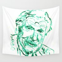 carl sagan Wall Tapestries featuring Carl Jung by echoes