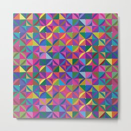 TRIPPY PATTERN Metal Print