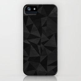Dirty Dark Geo iPhone Case