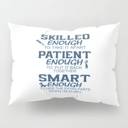 Awesome Mechanic Pillow Sham