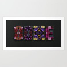 Opulent Floral HOME Art Print