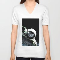 interstellar V-neck T-shirts featuring Interstellar by Graziano Ventroni