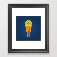 Metroid Loves Samus Framed Art Print