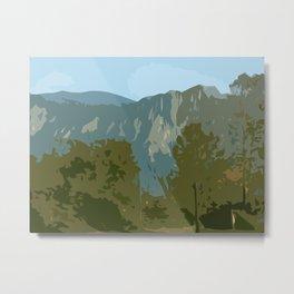 Mount Si in Autumn Metal Print