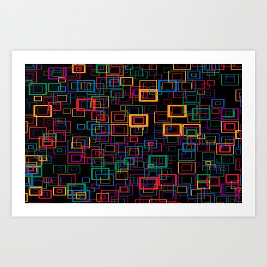 Colorquadro Art Print