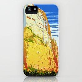 Zion National Park - Vintage Travel iPhone Case