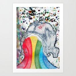 PissHead Art Print