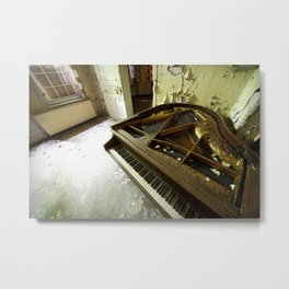 The soundtrack of her dreams Metal Print