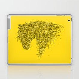 Horsey Yellow Laptop & iPad Skin