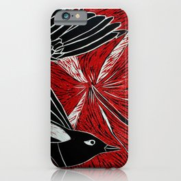 Magpies of Kalighat iPhone Case