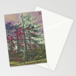 Bare Trees IV Stationery Cards