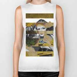 Klimt's The Kiss & Rita Hayworth with Glenn Ford Biker Tank
