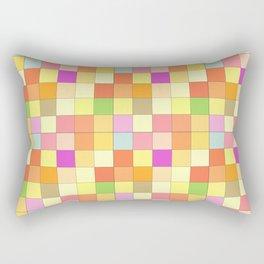 Music Chessboard Rectangular Pillow