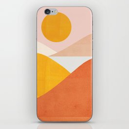 Abstraction_Mountains iPhone Skin