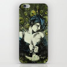 Black Pea iPhone Skin