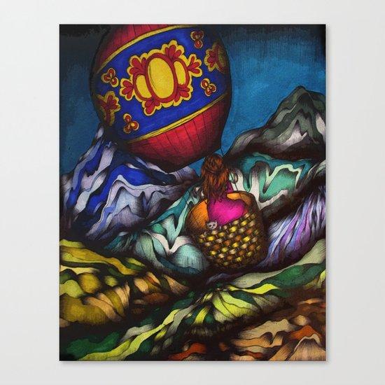 Solo Journey Canvas Print
