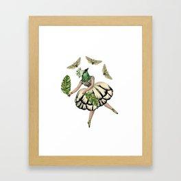 Bird Dancer three Framed Art Print