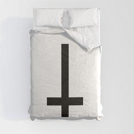 Inverted crosss Comforters