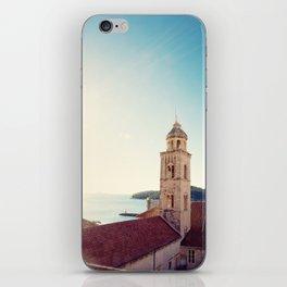 View of the Sea in Dubrovnik Croatia iPhone Skin