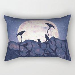Midnight Chorus Rectangular Pillow