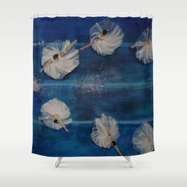 Ballet viewpoints Shower Curtain