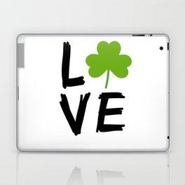 Love St Patricks Day Laptop & iPad Skin