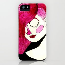 magenta marisol iPhone Case