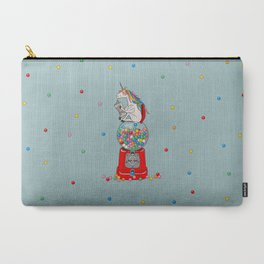 Unicorn Gumball Poop Carry-All Pouch