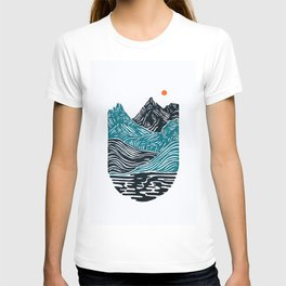 ABSTRACTED LANDSCAPE T-shirt