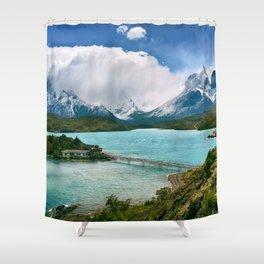 Mountain Retreat Shower Curtain