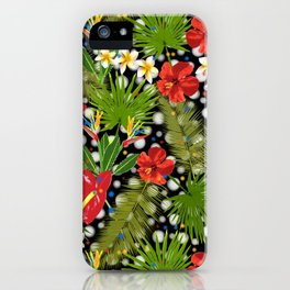 Tropical Dots iPhone Case