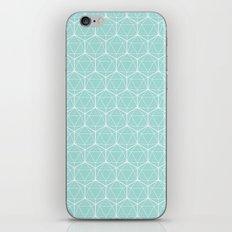Icosahedron Seafoam iPhone & iPod Skin