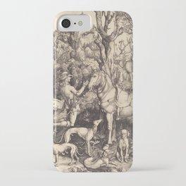 Albrecht Durer  -  Saint Eustace iPhone Case